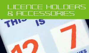 accessories and licence holders