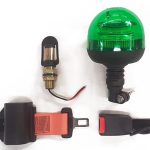 Green beacon seat belt kits now available